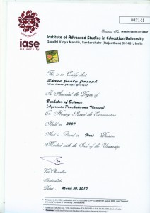 Bsc[1]. certificate